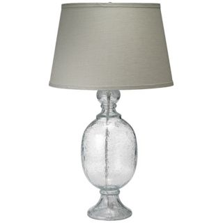 Jamie Young St. Charles Clear Seeded Glass Table Lamp   #W5116
