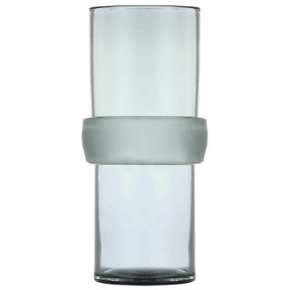 "Arteriors Home Topher 16"" High Tall Gray Glass Vase   #W8338"