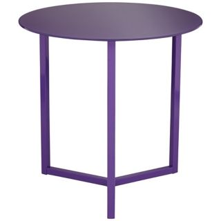 Brunetta Purple Accent Table   #W4185