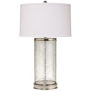 Kichler Herringbone Glass Table Lamp   #X4526