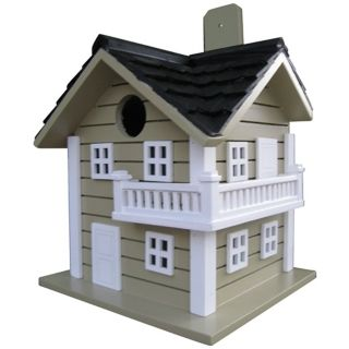 Light Green Surf City Bird House   #M8942