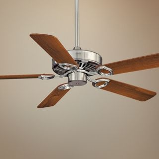 "52"" Minka Aire Ultra Max Brushed Nickel Ceiling Fan   #P5496"