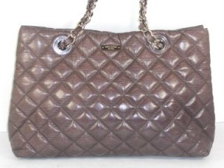 Kate Spade French Gray Helena Liberty Street Quilted Tote Handbag