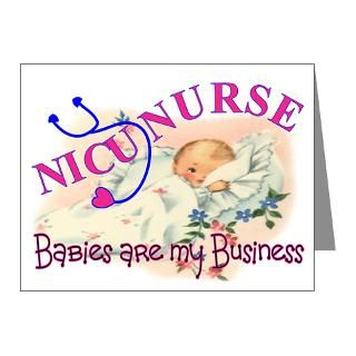 Babies Gifts  Babies Note Cards  PEDS Nurse Note Cards (Pk of 10)