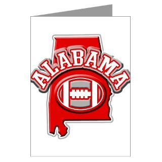 Alabama Football Greeting Cards  Buy Alabama Football Cards