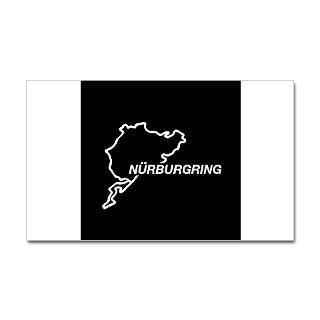 Nurburgring Car Window Bumper Sticker Decal Sti for $4.25