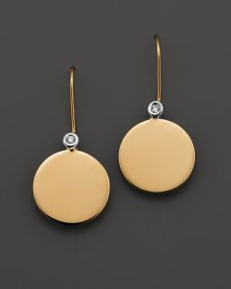 Roberto Coin 18 Kt. Yellow Gold Chic & Shine Earrings with Diamonds