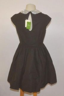 Kate Spade Size 4 Black Rhinestone Kimberly Dress NJMU1993