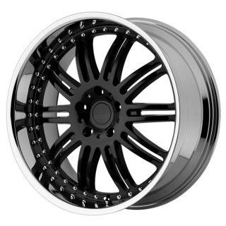 KMC KM127 Dime KM12722963538 22x9 5 38mm Offset 6x135 Gloss Black Mach