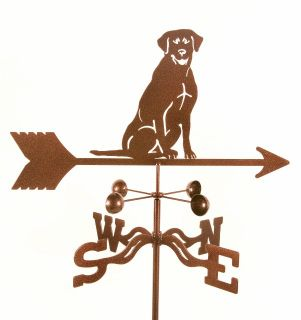 Lab Labrador Retriever Dog Weathervane Yard Art