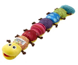 Lamaze Musical Inchworm Baby Toy Activity BNIB
