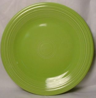 Homer Lauighlin China Fiesta Contemporary Chartreuse Dinner Plate 10 1