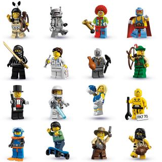 Lego 8683 Minifigures Series 1 Complete Set of 16