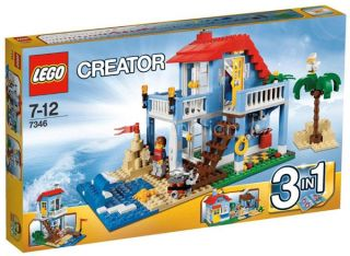 Lego 7346 Creator Seaside House 3in1 Beach Hut Vacation Holiday