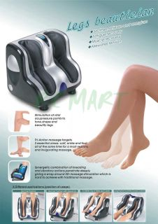 Legs Beautifician Deluxe Leg Calf and Foot Massager New