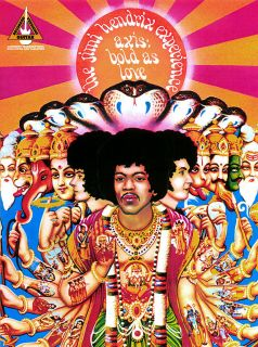 Jimi Hendrix Axis Bold as Love Guitar Song Book Tab