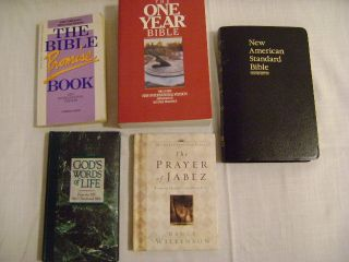 One Year Bible Books Gods Words Life Promise Book Jabez Prayer
