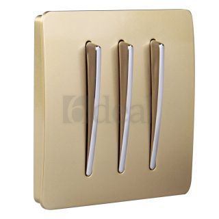 Living Room LED Dimmer Sound Touch Controll Light Switch Plate