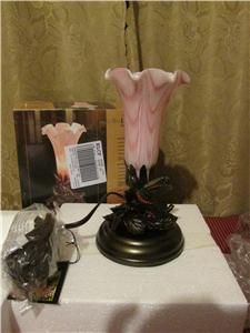 Dale Tiffany Hummingbird Lily Accent Lamp Item 175611 Model TA70315