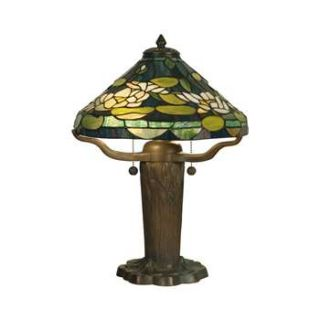 Dale Tiffany Water Lily Tiffany Replica Table Lamp TT10032