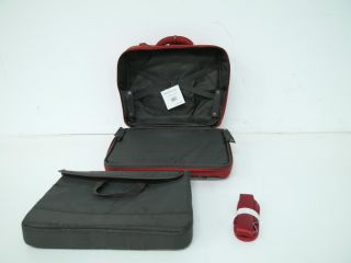 Lipault JPF 1010 05 Luggage Wheeled Pilot Case Red 18x15x8