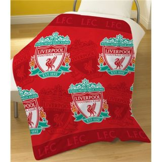 Football Club Teams Bedding Warm Soft Fleece Blanket Throw Select Club