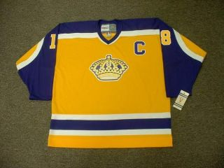 Dave Taylor Los Angeles Kings 1985 Vintage Jersey XXL