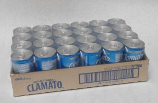 Motts Clamato Juice 5 5oz Case 24 Red Bloody Mary Beer Chelada Clam