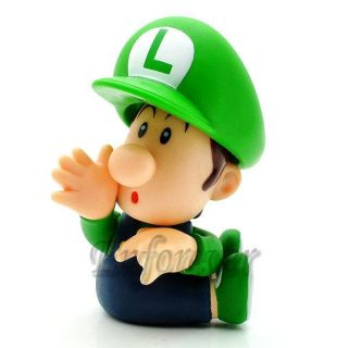 Action Figure Super Mario Bros Luigi Baby MS606