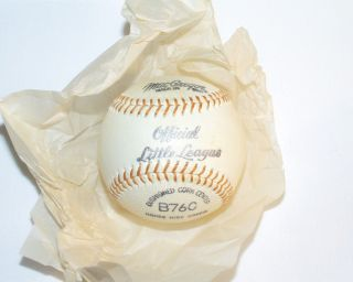 Vintage 1950s MacGregor Official Little League Baseball B76C in Box