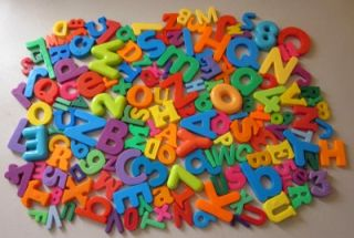 Fridge Magnetic Magnet Alphabet Letter Numbers LOT 150+ All Kinds of