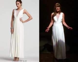 New BCBG Max Azria Magdalena Draped Jersey Evening Gown Maxi Dress
