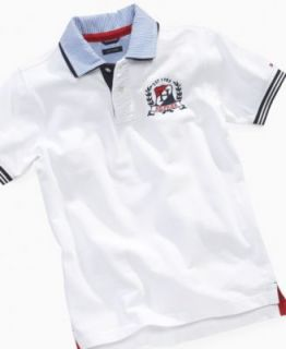 Hilfiger Kids Shirt, Boys Justin Pique Polo   Kids Boys 8 20