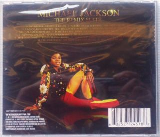 Michael Jackson The Remix Suite Malaysia Edition Universal Music CD