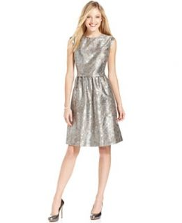 Patra Dress and Jacket, Sleeveless Sequin Gown