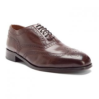 New in Box Florsheim Mens Marlton Wing Tip Dress Shoe Brown Leather