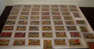 Original 1962 Complete Set 1 55 Mars Attacks Trading Cards Bubble Inc