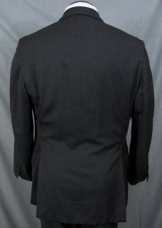 Freeman Son MTM Three Button Pinstripe Suit 41L