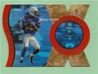 Marvin Harrison 1996 UD SPx Holofame Holoview Colts
