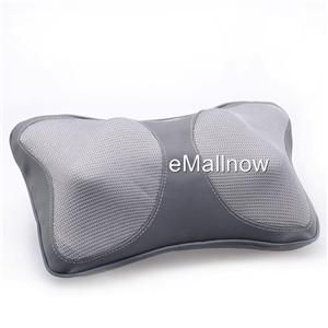 Car Home Massage Pillow Cushion DC 12V AC 100 240V