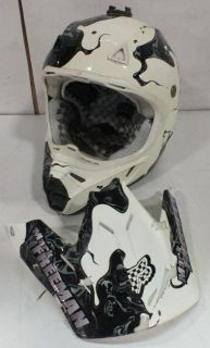 Autographed Mark Freeman 408 Fox Racing Motorcross Helmet