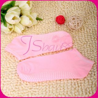 Breathable Non Slip Gym Dance Pilates Practice Yoga Socks Foot Massage