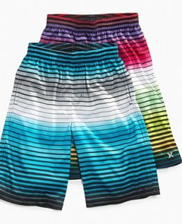 Hurley Kids Shorts, Boys Multi Stripe Boardshort