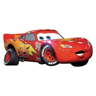 Cars Big Wall Mural Stickers Room Decor Lightning McQueen Decal