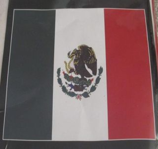 New Mexico Mexican Heritage Country Flag Soft Fleece Throw Git Blanket