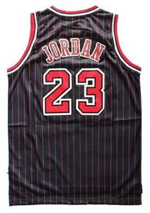 Michael Jordan Bulls Black Swingman Jersey Retro