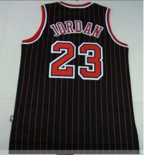 Michael Jordan Chicago Bulls 23 Swingman Black Jerseys