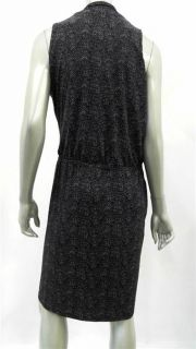 Michael Michael Kors Womens Petite Stretch Tunic Dress Sz PL Plum