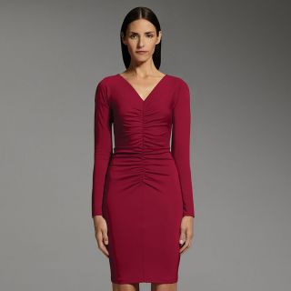 nwt Narciso Rodriguez DesigNation Ruched Sheath Dress  Michelle Obama