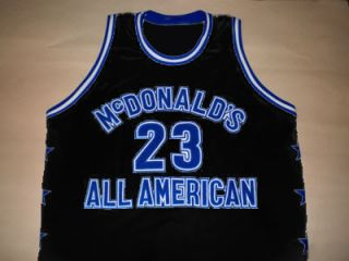 Michael Jordan McDonald All American Jersey McDonalds Black New Any